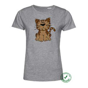 T-shirt Senhora Gato Sentado