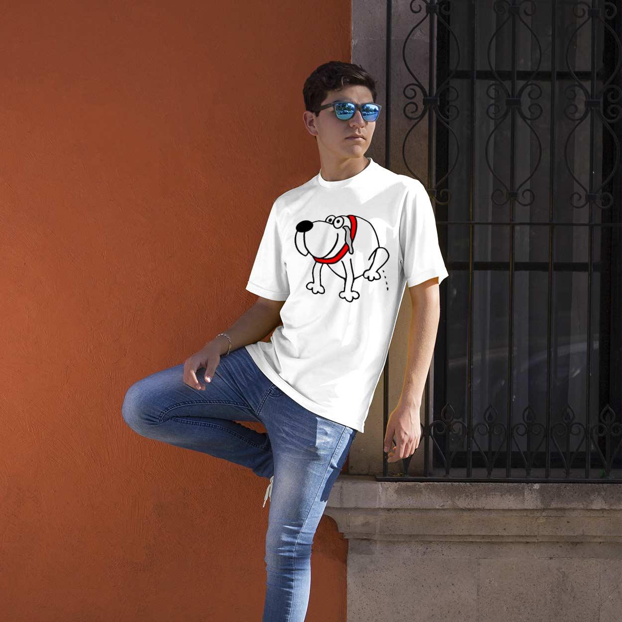 Creative Lisbon T-shirt XIXI de cão