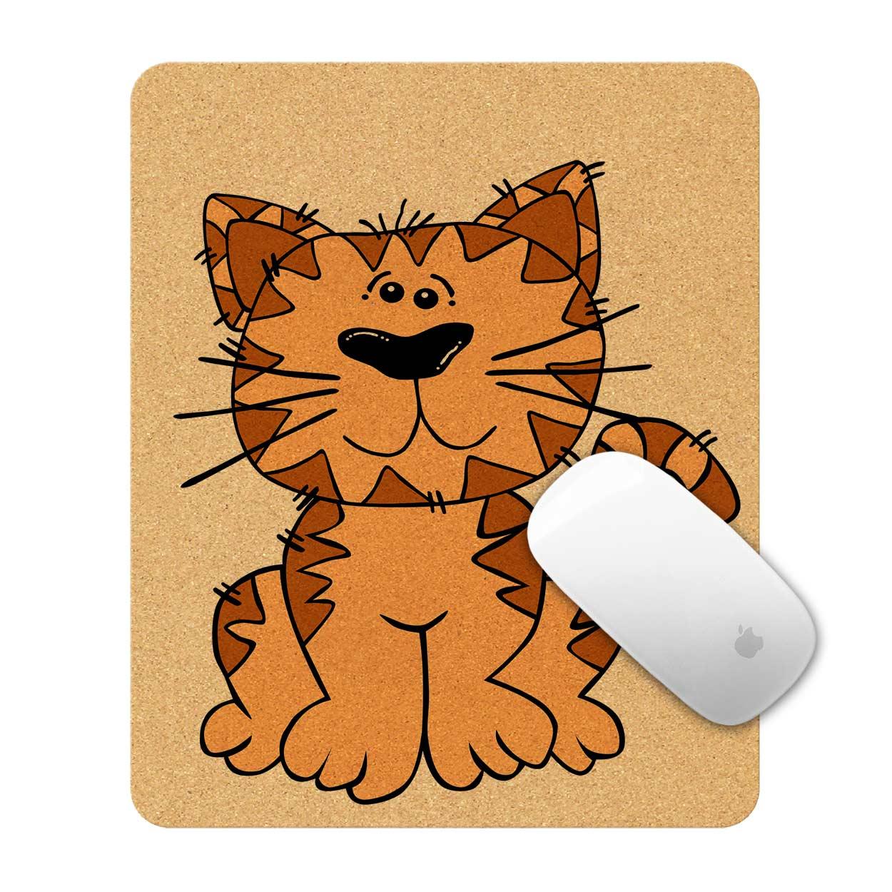 Tapete de Rato Gato Sentado