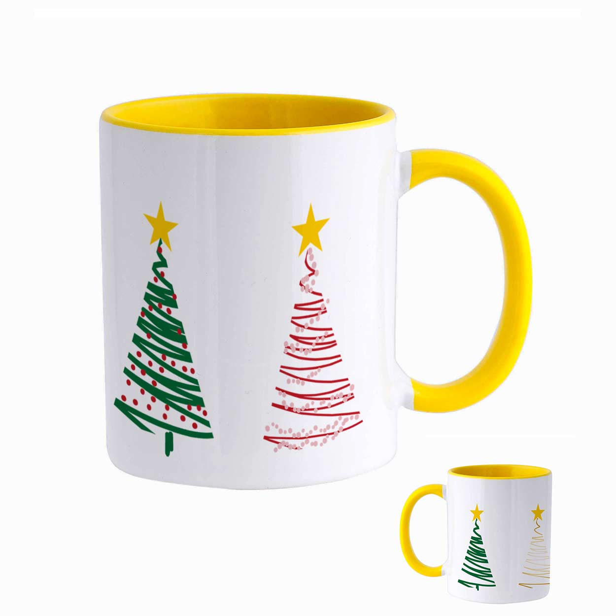 Caneca Árvore de Natal