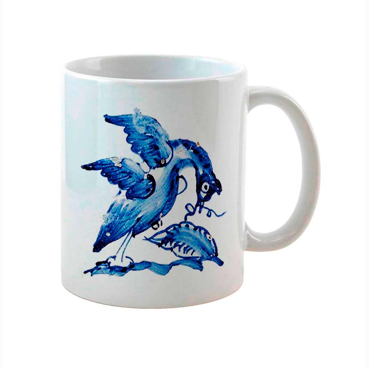 Caneca Pato Azul