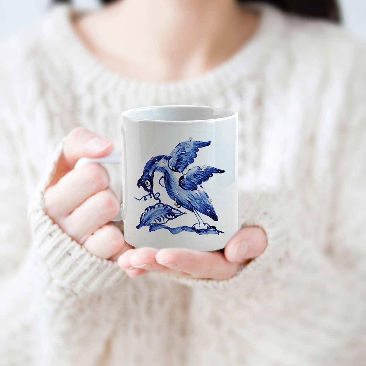 Caneca Pato Azul,