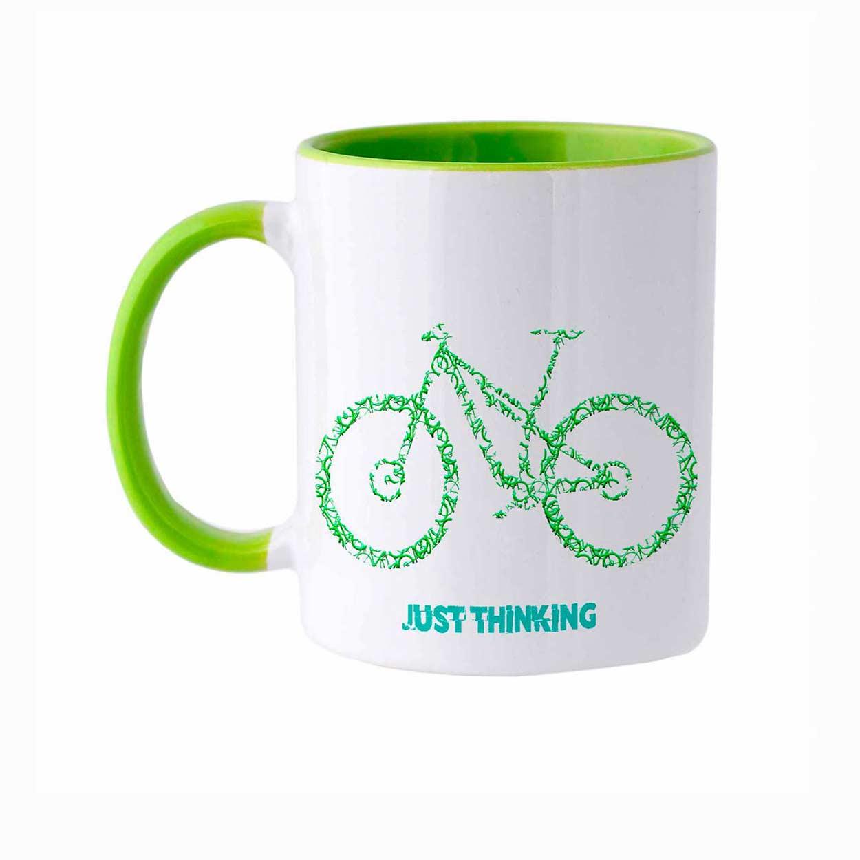 Caneca Thinking Bike