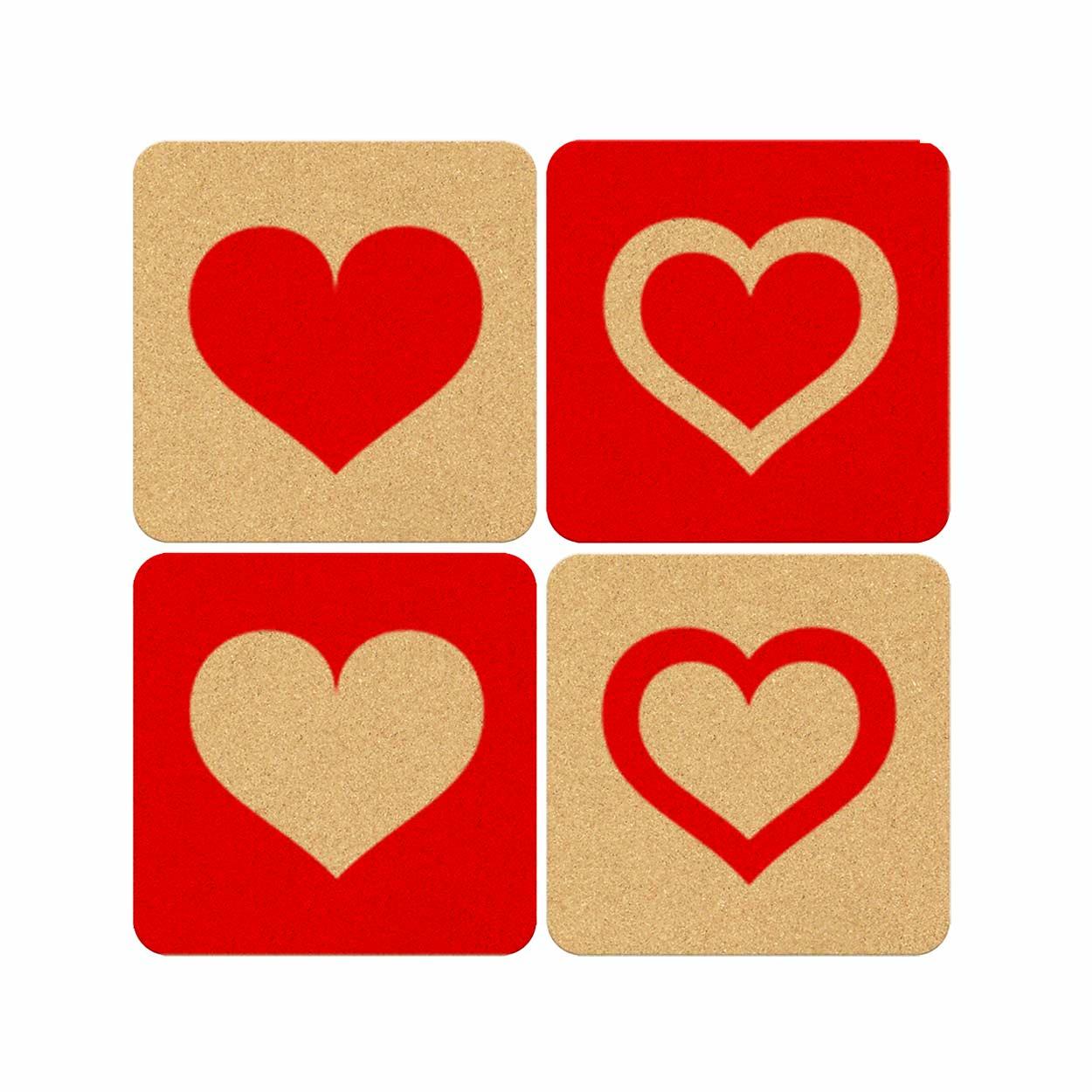 Bases Copos Corações