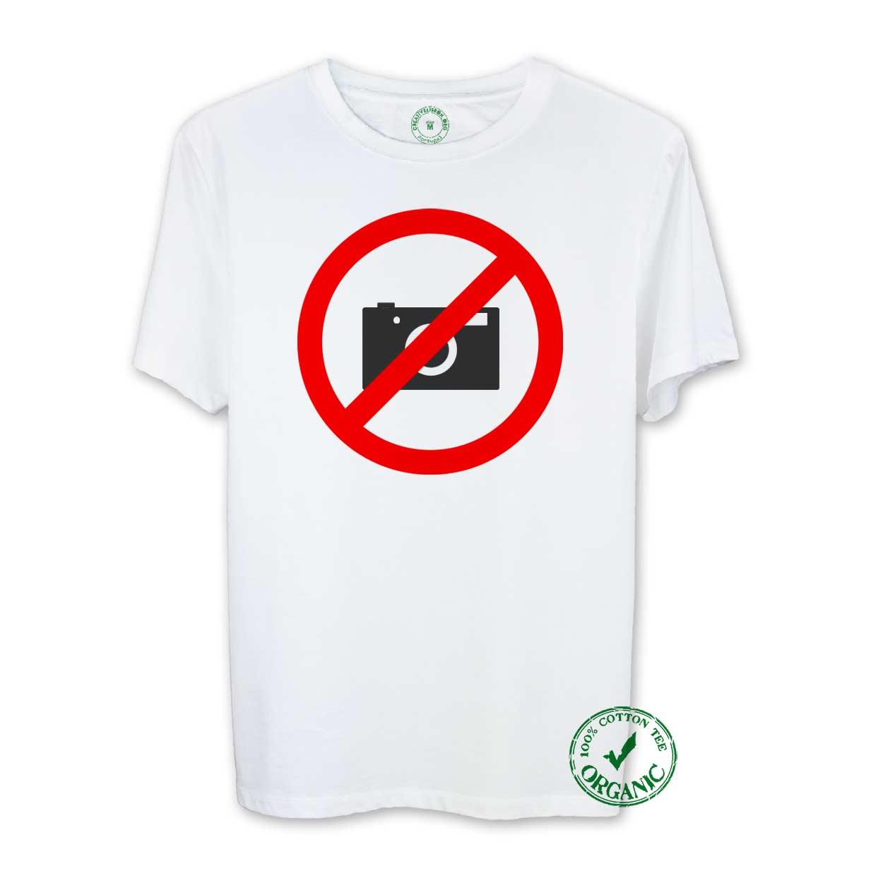T-shirt Foto Não!