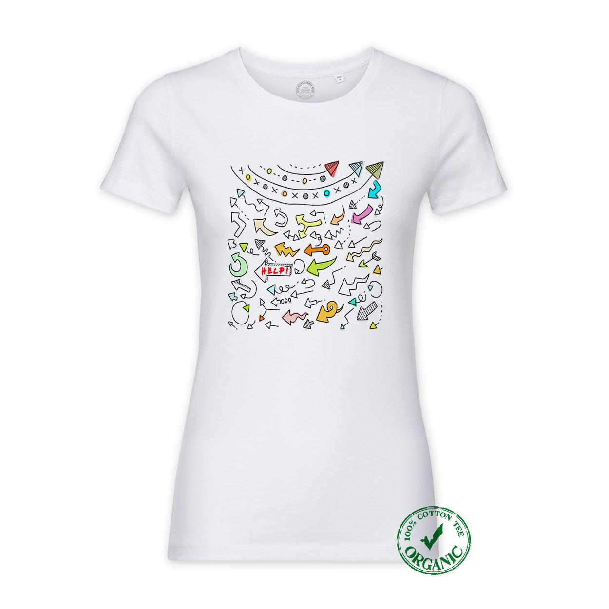 T-shirt Setas